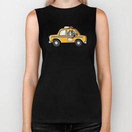 Taxi Writer Biker Tank