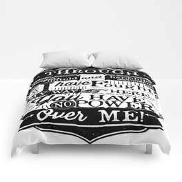 Labyrinth Quote You Have No Power Over Me Comforters