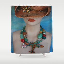 Fasten Your Seat Belt Shower Curtain