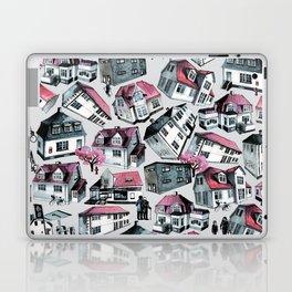 Danish small town pattern Laptop & iPad Skin