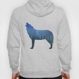 Howling wolf forest II Hoody