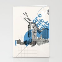 architect Stationery Cards featuring Architect by Kacper Kieć