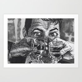 Elderberry Wine Art Print