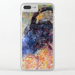 Ultraviolet - ZJ / Jx3 Clear iPhone Case