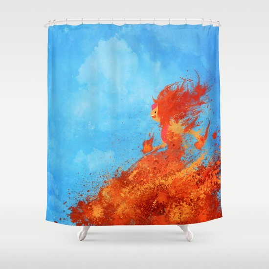 Eeeeevvviiiiillll Shower Curtain
