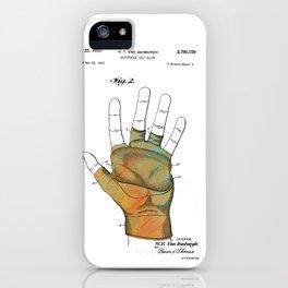 Golf Glove Patent 1955 iPhone Case