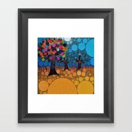 :: Jewel Tree :: Framed Art Print