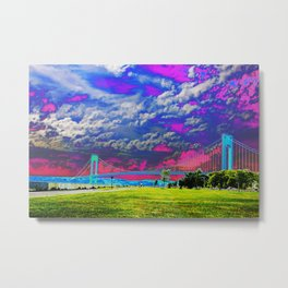Verrazano Bridge  Metal Print
