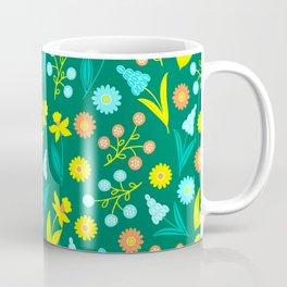 Easter Yellow Daffodil Pattern Coffee Mug
