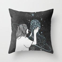 Miracles sometimes happens. Throw Pillow