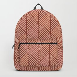 Shades of terracotta Backpack