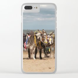 In the Donkey Ride Que Clear iPhone Case