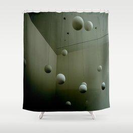 Fragmentation Shower Curtain