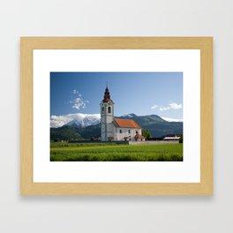 Church of saint John Framed Art Print