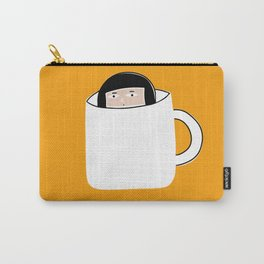 Hiding in a Tea Cup Carry-All Pouch