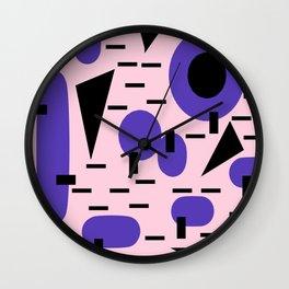 Memphis 2018 Wall Clock