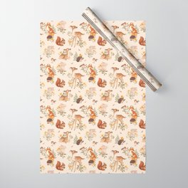 Meadow Friends Wrapping Paper