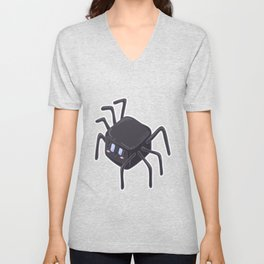 Spider web comic thread arachnids children gift Unisex V-Neck