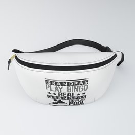Billiards Humor I'm Here to Break Your Balls Pool Player Fanny Pack