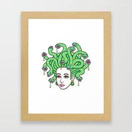 Medusa Anime Framed Art Print