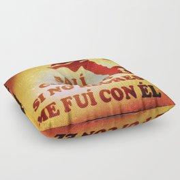 Sali con Dios Floor Pillow