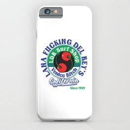 LDR Surf Shop Venice Bitch California Tee iPhone Case