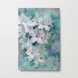 White Azaleas Metal Print