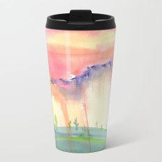 Desert Metal Travel Mug