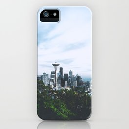 Seattle afternoon views iPhone Case