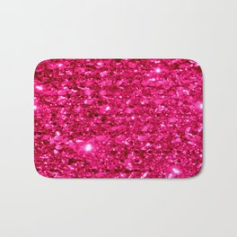 SparklE Hot Pink Bath Mat
