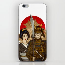 Samurai's Daughter iPhone Skin