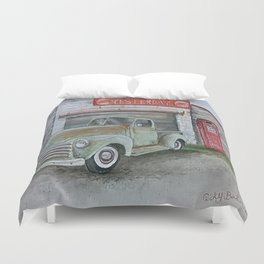 Yesterday Duvet Cover