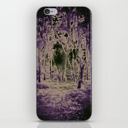 Into the Black Lodge iPhone Skin