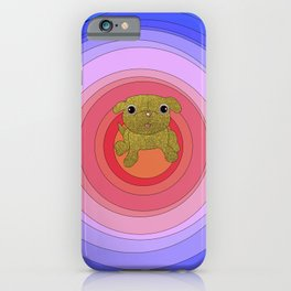 the golden pug iPhone Case