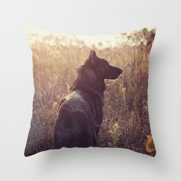 September Throw Pillow