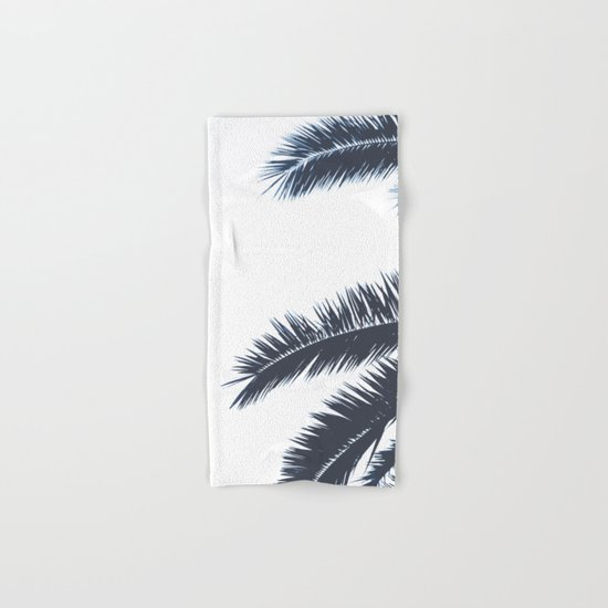 Palm Tree leaves abstract III Hand & Bath Towel