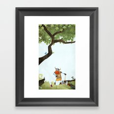 Hero Shot Framed Art Print