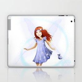 Please Little Fairy, Come Visit Me Laptop & iPad Skin