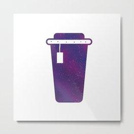 Coffee Galaxy sky Metal Print