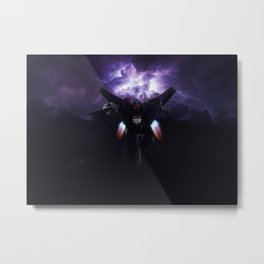Starscream Metal Print