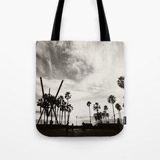 Venice beach. B&W Venice. Tote Bag