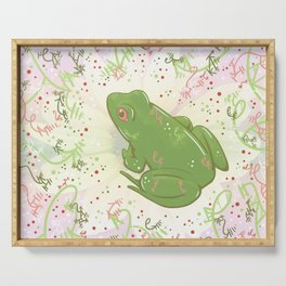 Little Frog Serving Tray