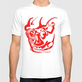 face8 red T-shirt
