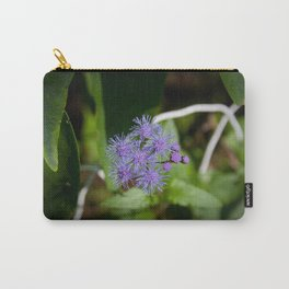 Purple Wildflower Carry-All Pouch