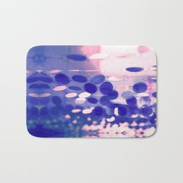 GLAM CIRCLES #Soft Pink/Blue #1 Bath Mat