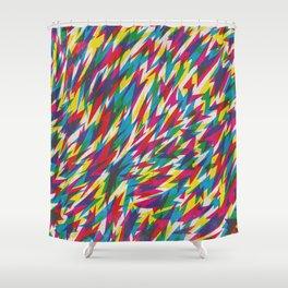 Boom Boom Zoom Shower Curtain