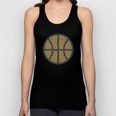 Op Art Basketball. Unisex Tank Top