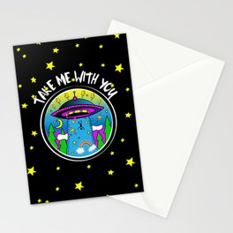Take me with you Stationery Cards