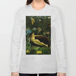 "Henri Rousseau ""The dream"", 1910 Long Sleeve T-shirt"