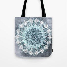 BOHOCHIC MANDALA IN BLUE Tote Bag